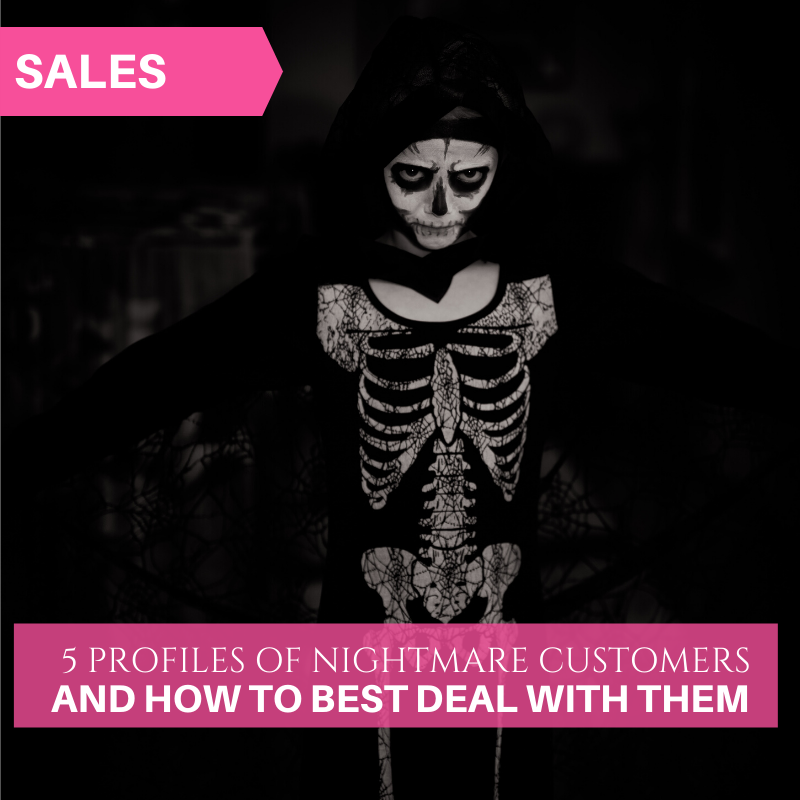Deal with nightmare customers in fashion